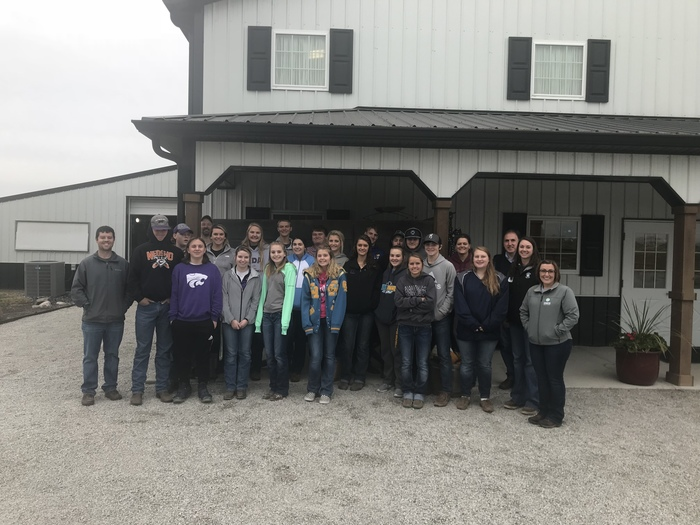 Central Heights FFA toured Reproductive Specialty Group, INC, a sheep and goat A.I. and embryo transfer company near Lebanon, IN