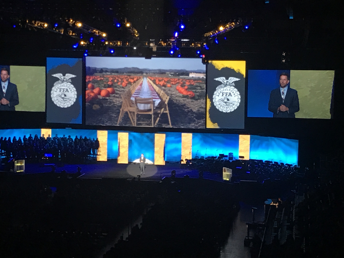 NAAE speaker at the National FFA Convention.
