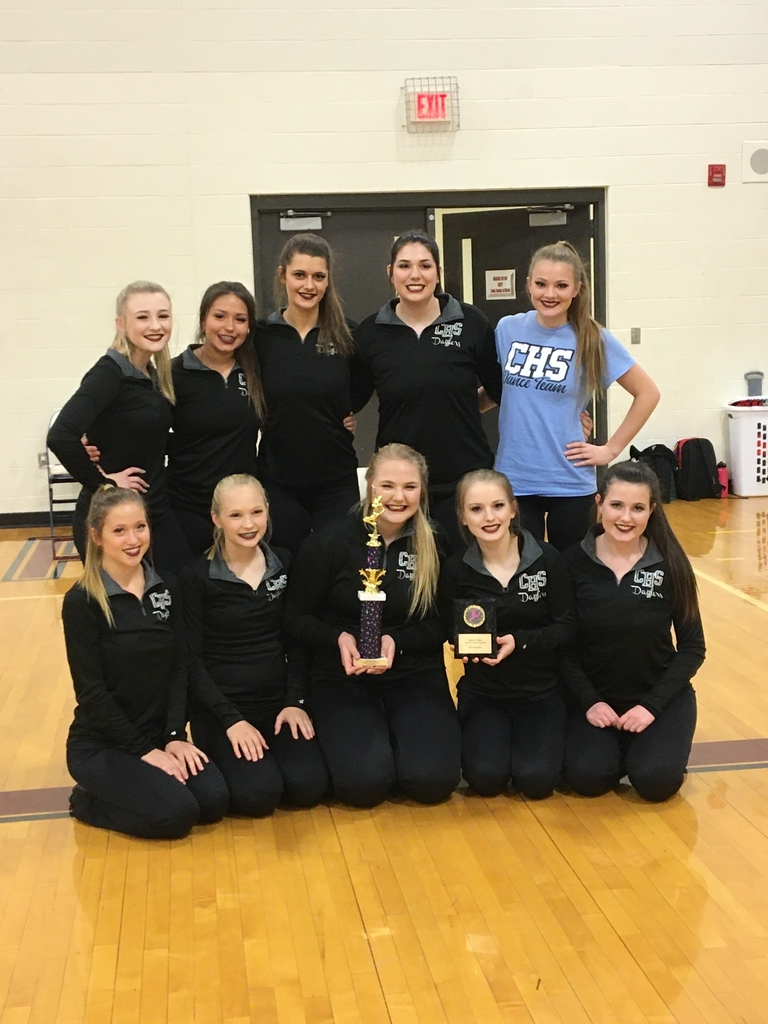 The Dazzlers Dance Team competed today at the Eudora Elite Cheer & Dance Festival. The Dazzlers came home with a 1 eating and a showmanship award.