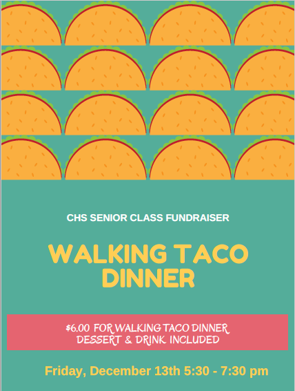 Walking Taco Fundraiser!