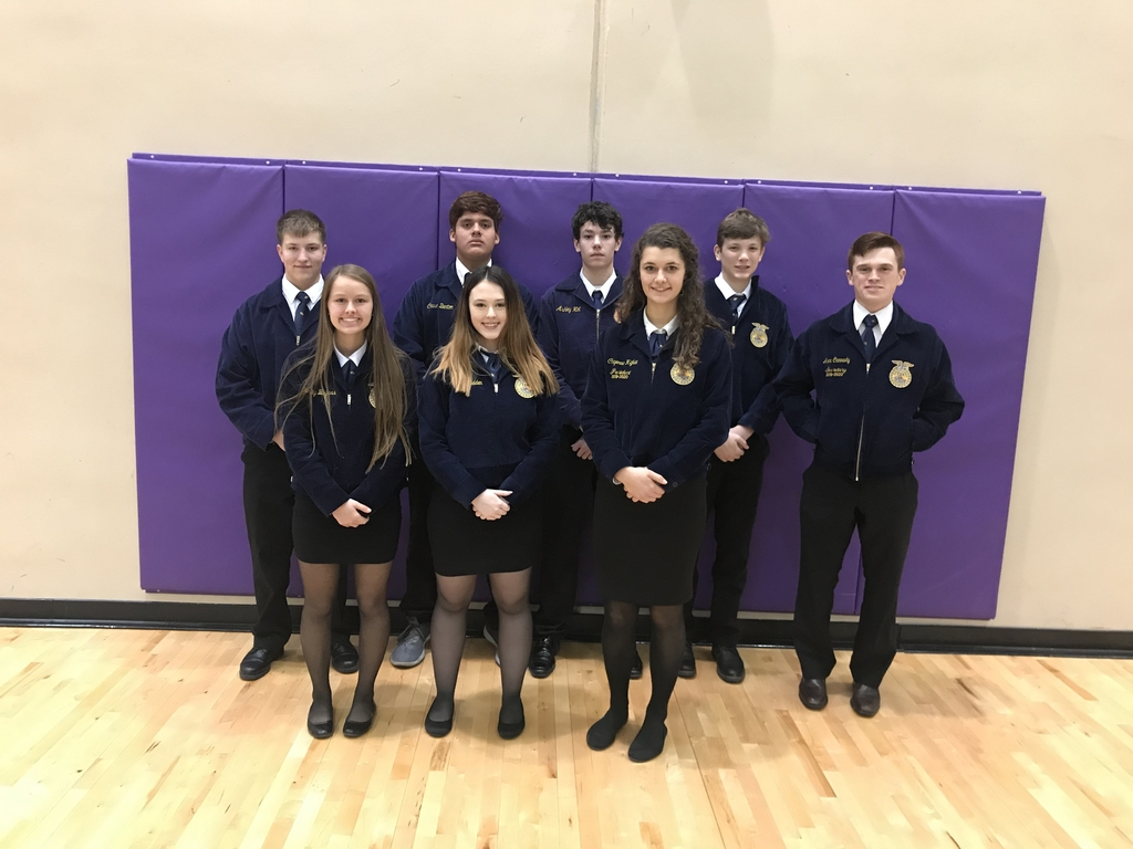 CHS FFA Public Speaking Team